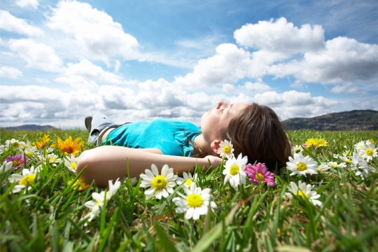 Girl-Resting-Meadow